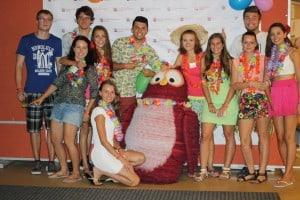 Havajská párty - 1. turnus